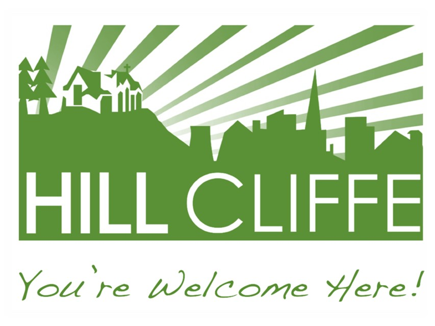 Hill Cliffe Green Logo with st